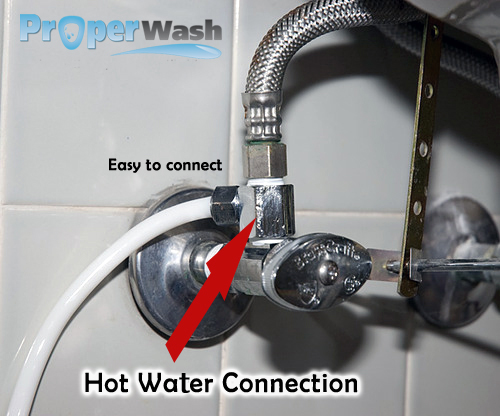 Warm Amp Cold Water Bidet Attachment
